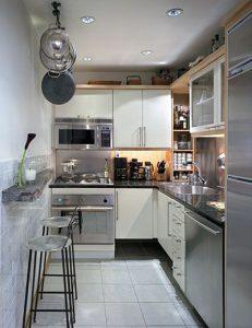 بزرگ جلوه دادن آشپزخانه