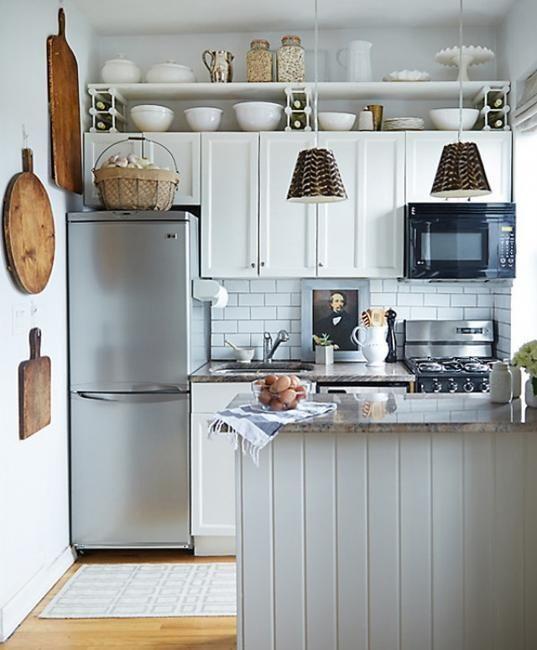 بزرگ کردن آشپزخانه کوچک