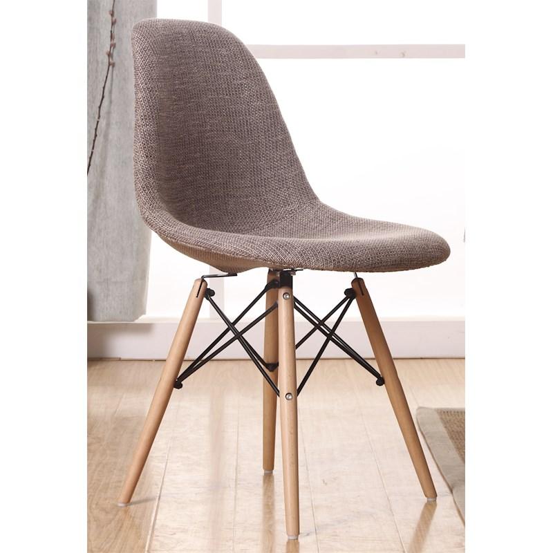 صندلی پلاستیکی پارچه ای ایفلی