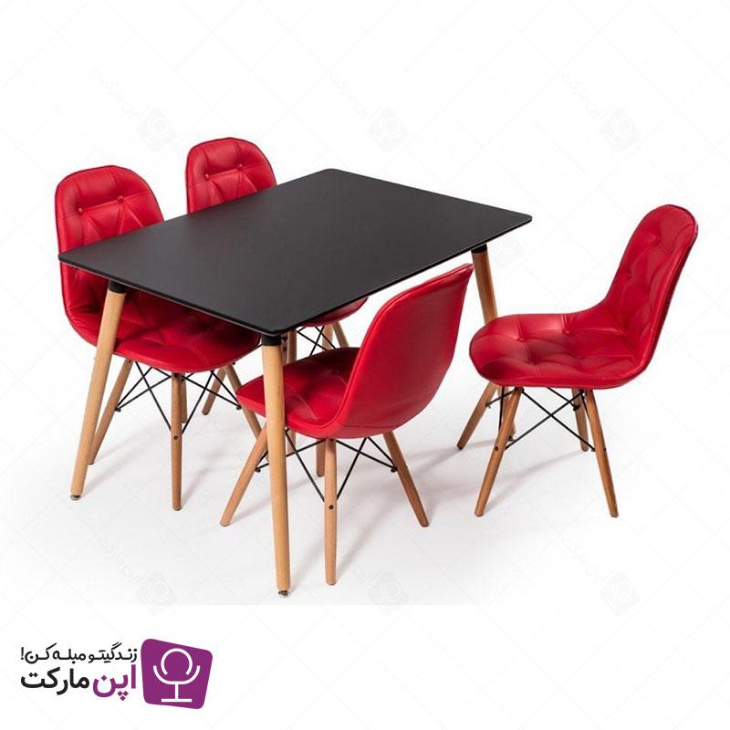میز ناهارخوری پایه ایفلی