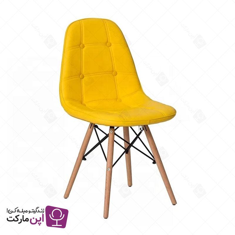 صندلی لمسه ایمز پایه ایفل پارچه