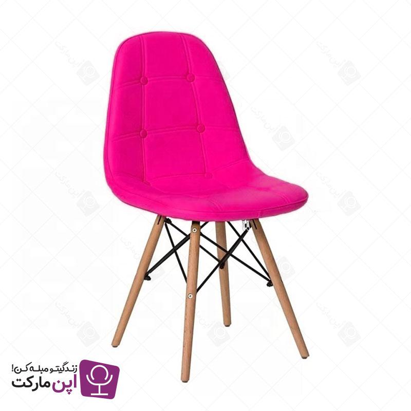 صندلی مدرن لمسه ایمز پایه ایفل پارچه