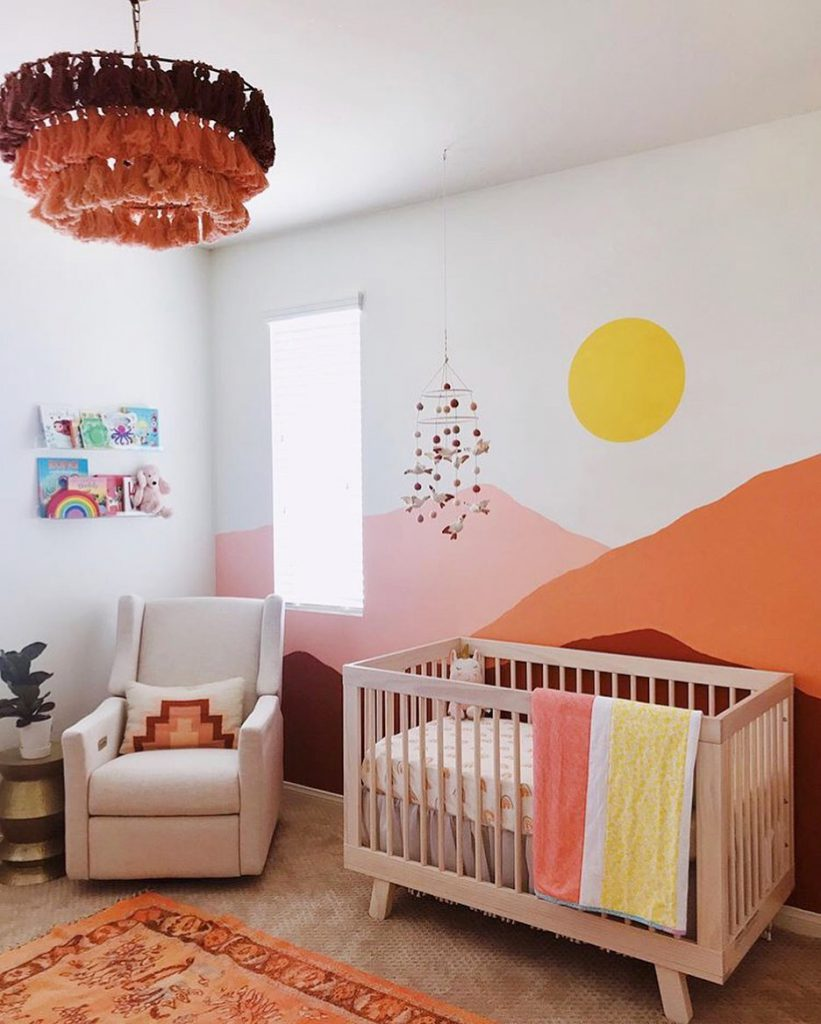 بالا بردن جذابیت اتاق نوزاد