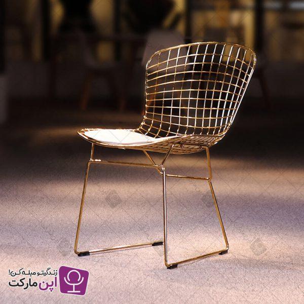 صندلی برتویا طلایی