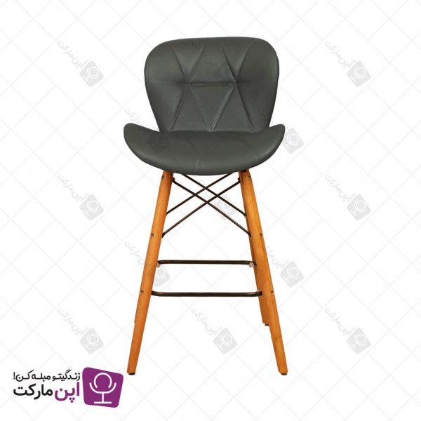 صندلی اپن لارا پایه ایفل چرمی